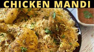 ARABIAN CHICKEN MANDI  مندي دجاج  चकन मद रसप  مندي بلدجاج  MANDI RICE  RAMADAN RECIPE