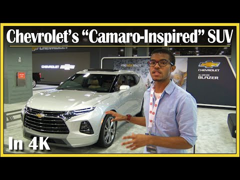 2019 Chevy Blazer First Look (DETAILED) | Quick New SUV Review at the 2018 MIAS | In 4K UHD!