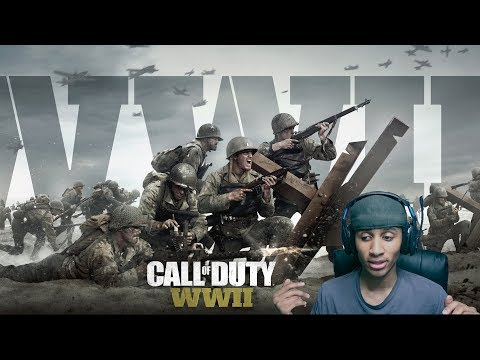 call of duty WWll gameplay  البدايه نتعرف على كل شئ thumbnail