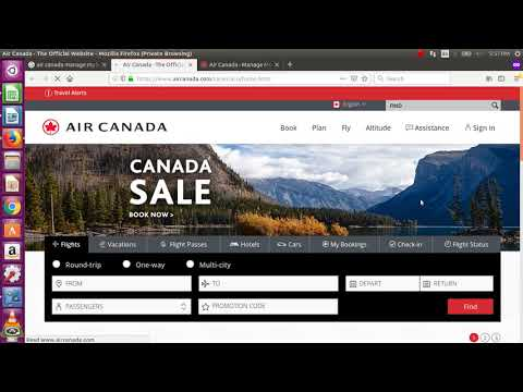 Air Canada Manage My Booking Steps- Manage Reservations- Complete Guide