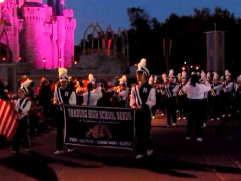 Hamburg High School Marching Band - Disney World 2013