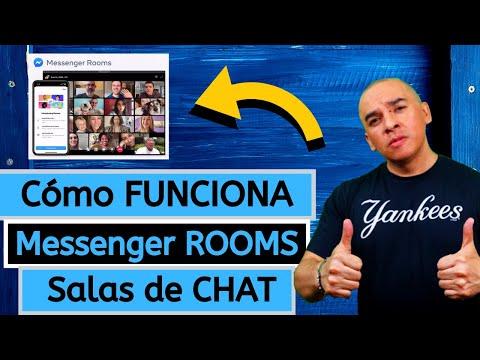 Facebook Lanza MESSENGER ROOMS O Salas De Video CHAT. Diferencia Con Zoom?