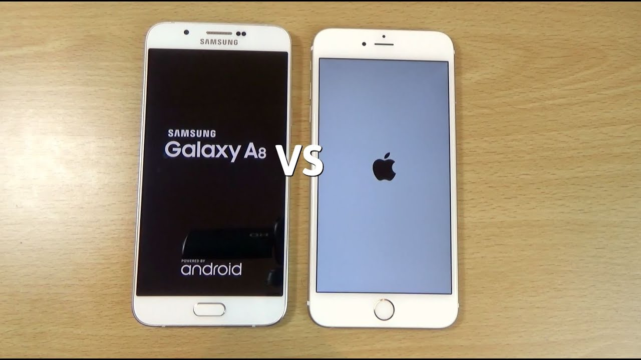samsung galaxy a8 vs apple iphone 6 speed camera test. Black Bedroom Furniture Sets. Home Design Ideas