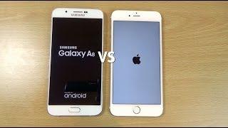 Samsung Galaxy A8 VS Apple iPhone 6+ Speed & Camera Test!