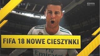 FIFA 18 | NOWE CIESZYNKI | CIESZYNKA CR7