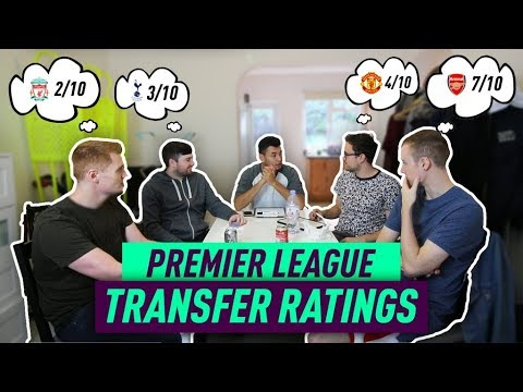 *CONTROVERSIAL* 5 WAY PREMIER LEAGUE SUMMER TRANSFER RATINGS!!!