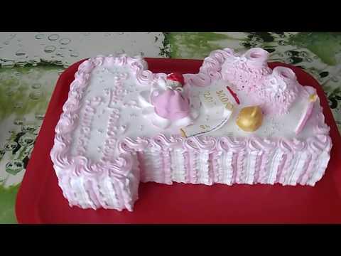 Торт единичка своими руками для девочки