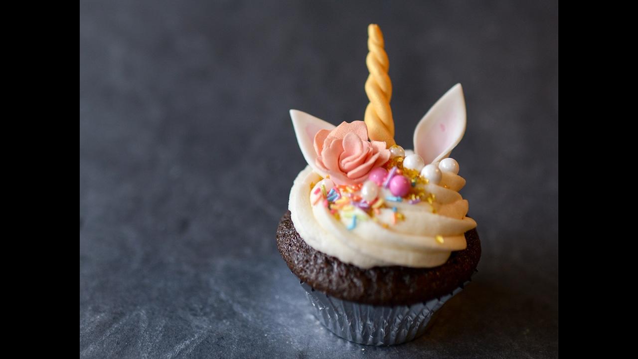 Unicorn Cupcake Tutorial Youtube