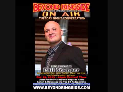 """Beyond Ringside's Tuesday Night Conversation with """"The Phenom"""" Phil Stamper"""