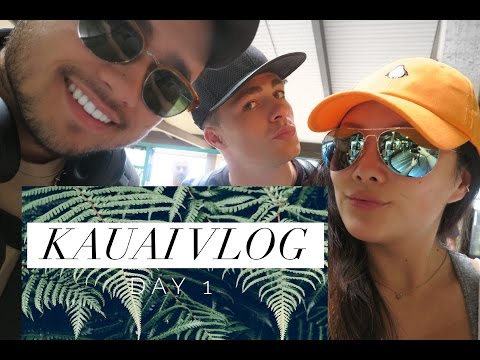 Flying to Kauai, Hawaii and Resort Life (with Colton and Travis) | Vlog