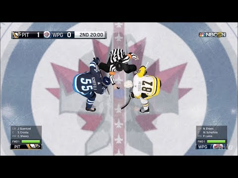 NHL 18 - Winnipeg Jets vs Pittsburgh Penguins - Gameplay (HD) [1080p60FPS]
