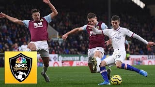 Christian Pulisic39s hat trick against Burnley  Premier League  NBC Sports