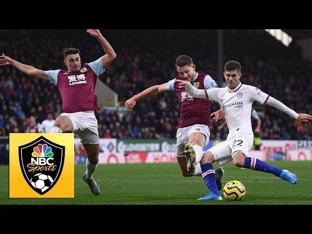 Christian Pulisic's hat trick against Burnley | Premier League | NBC Sports