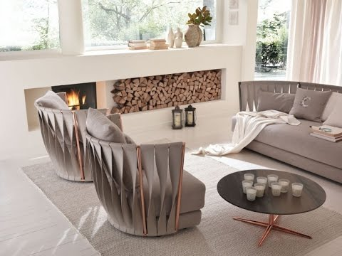 Эксклюзивный интерьер. Красивая мебель в итальянском стиле