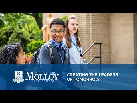 "Archbishop Molloy High School: ""Creating the Leaders of Tomorrow"""