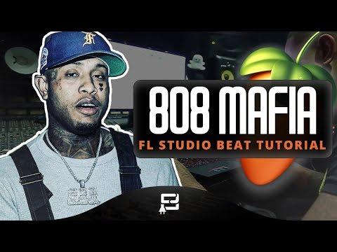 How To Make A 808 Mafia Type Beat On FL Studio 12 | Making A Hard 2018 Trap/ Rap Styled Beat