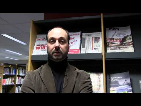 Interview Emmanuele Pavolini, Symposium EU and welfare state reform 3 Febr 2015