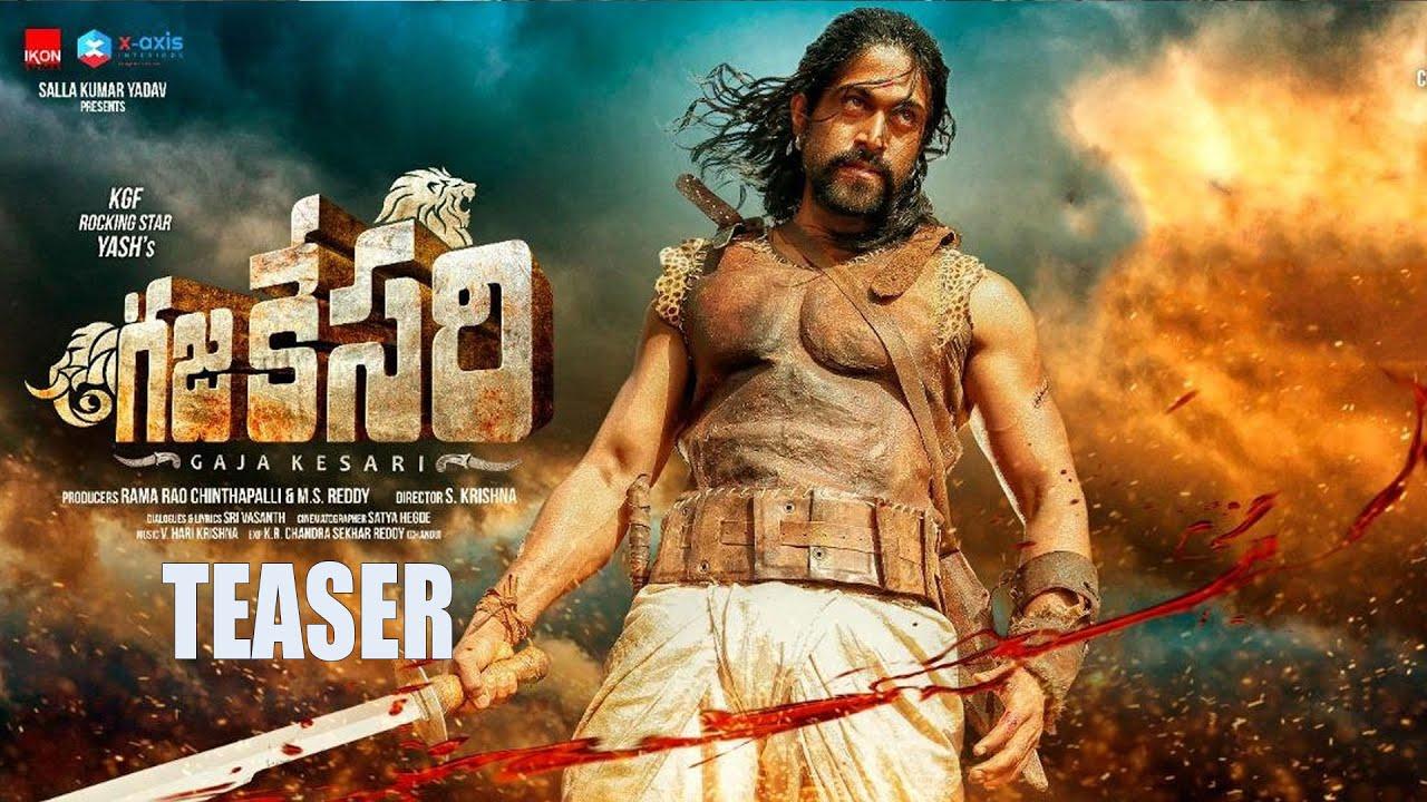KGF Yash's Gajakesari Telugu Teaser Is Out