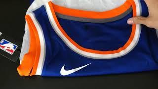 3c3f0d3e Unboxing Knicks Nike Jersey NBA. Kristaps Porzingis.