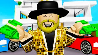 Officer Finkleberry Becomes A Billionaire! A Roblox Movie (Brookhaven RP)