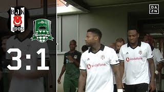 Besiktas Istanbul gewinnt Test in der Steiermark: Besiktas - Krasnodar 3:1 | Highlights | DAZN