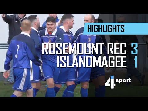 Rosemount Rec 3 - 1 Islandmagee FC - 01 Dec 18