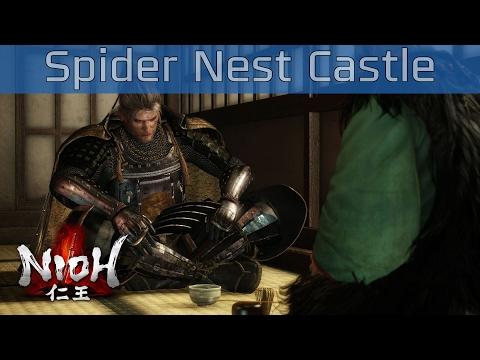 Nioh - Spider Nest Castle Mission Walkthrough [HD 1080P/60FPS]