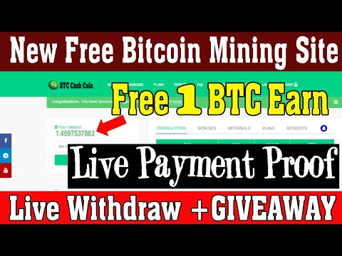 New Earning Site 2020 | Free Bitcoin Earning Sites 2020 || Free Bitcoin Mining Site 2020