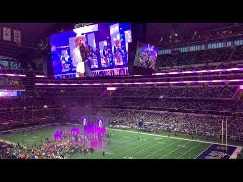 Ellie Goulding Dallas Cowboys Thanksgiving