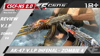 CrossFire CK 2.0 Offline ☆ AK-47 V.I.P Infernal BEAST - Vip cổ săn Zombie V4