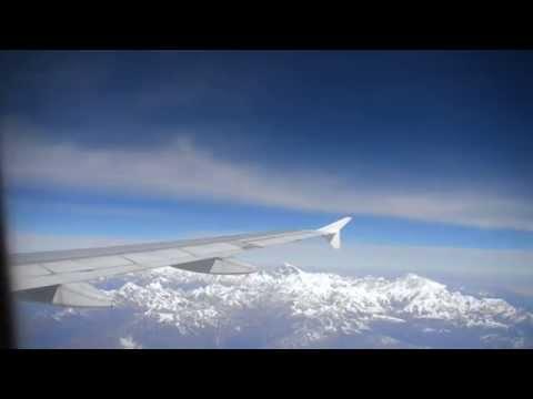 Flying Paro (Bhutan) to Everest (on the way to Kathmandu)