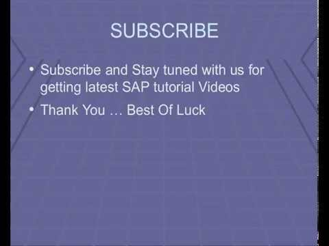 SAP Bank Accounting  ( FI-BL ) Tables List, module Tutorial