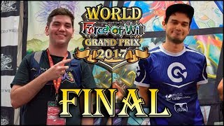 Force of Will WGP 2017 en Castellano l Federico Zoppini Vs Nick Hayes Blandin (Final)