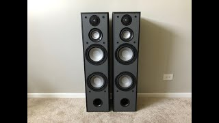 Yamaha NS-A200XT 3 Way Tower Floor Standing Speakers
