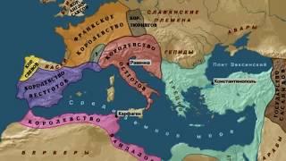 История ВИЗАНТИИ  от А до Я | понятный рассказ по карте ( динамические изменения )