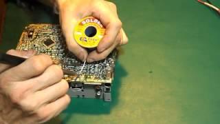 Ремонт автомагнитолы Panasonic CQ- C1330NE.Не включается. Окончание