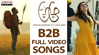 A Aa B2b Full Video Songs  A Aa Video Songs  Nithiin, Samantha , Trivikram, Mickey J Meyer
