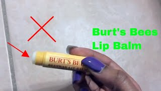 ✅  How To Use Burts Bees Beeswax Lip Balm Review