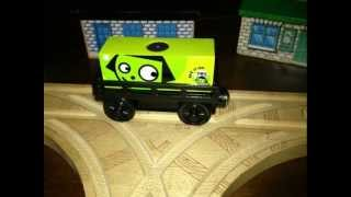 Rare Thomas and Friends Wooden Railway Trains