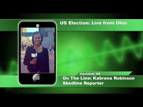 Phone interview with reporter in Cleveland - U.S. Presidential Election