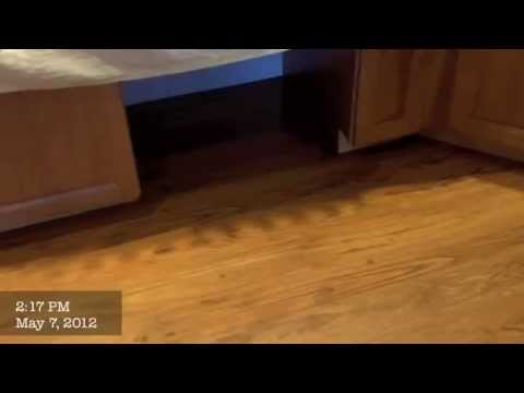 Custom Kitchen Remodel Floor and Grout 18