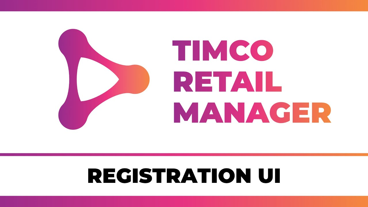 User Registration in Blazor WebAssembly - A TimCo Retail Manager Video