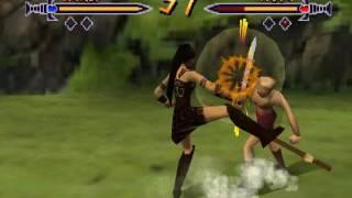 Xena Talisman of Fate N64 Xena VS Gabrielle/Hope