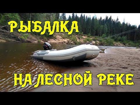 Рыбалка на лесной реке Открытие сезона 2020