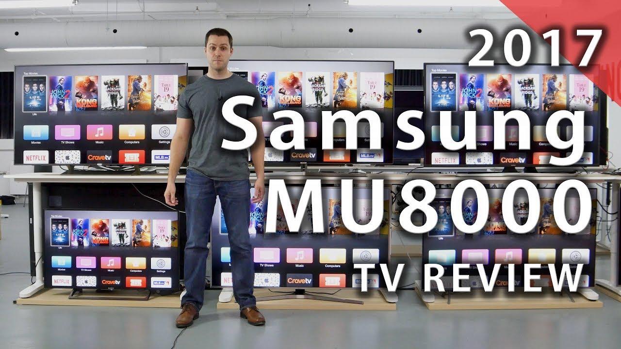 samsung mu8000. samsung mu8000 2017 tv review - rtings.com mu8000
