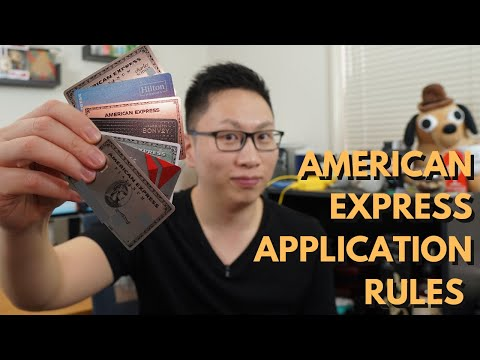 AMEX Application Rules 2019 Update (1/5, 2/90, Once In A Lifetime)