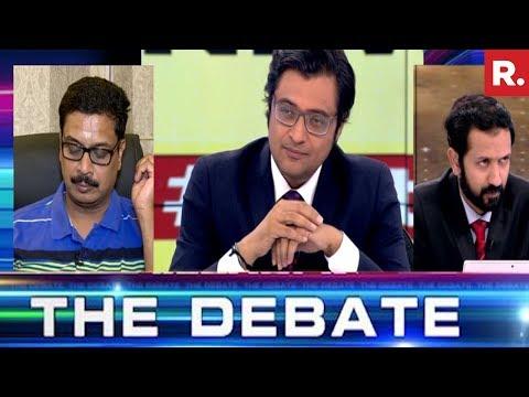 Late Night Political Drama In Bihar   The Debate With Arnab Goswami