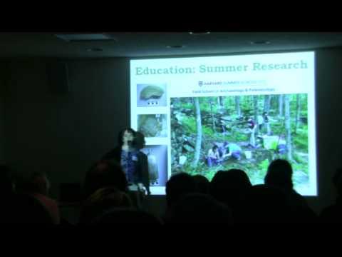 Clarisse Hart (Harvard Forest) - 2012 Harvard Forest Ecology Symposium