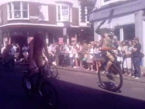 Brighton naked bike ride 2009 - 3