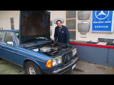 One of the Top 10 Simple Things Overlooked on Mercedes W123